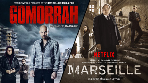 Crime shows Gomorrah and Marseille