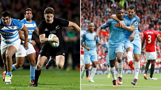 All Blacks and Manchester City Wins
