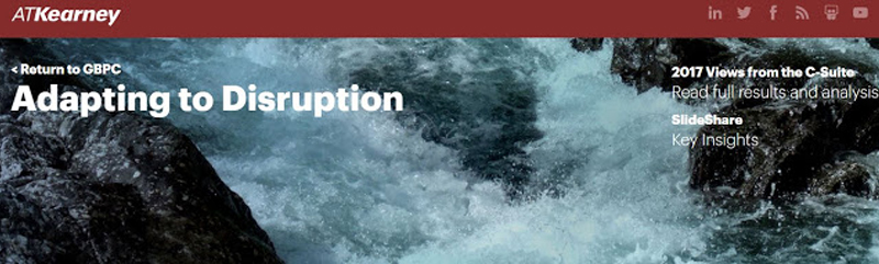 ATKearney - Adapting to Disruption